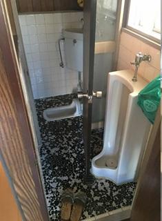 トイレ:和式→洋式(小便器あり)|はっぴいリフォーム